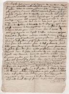 48 LOZERE - 1822 LE BLEYMARD / CONVOCATION CONSEIL DE FAMILLE POUR MARIE PEYTAVIN A SAINT JULIEN DU TOURNEL - Manuscripts
