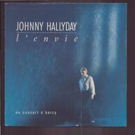 """45 T Johnny Hallyday """" L'envie + Equipe De Nuit ' - Autres - Musique Française"""