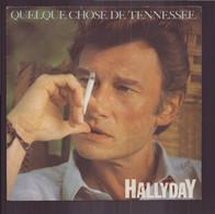 """45 T Johnny Hallyday """" Quelque Chose De Tenessee + Equipe De Nuit ' - Autres - Musique Française"""
