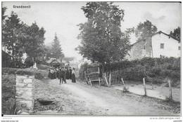 GRANDMENIL ..-- Le Village .1911 Vers EMBOURG , CHENEE ( Mme A. GRAFE ) . Voir Verso . - Manhay