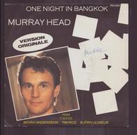 "45 T Murray Head "" One Night In Bangkok + Merano "" - Disco, Pop"