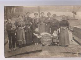 BATELLERIE Carte Photo/2  1915 - Sonstige
