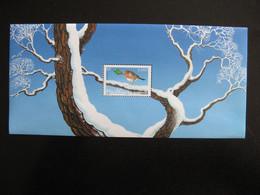 TB B.F.souvenir N° 1  : Rouge Gorge ... , Sans Encart, Neuf XX. - Souvenir Blocks