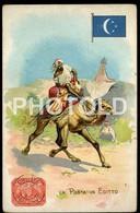 OLD POSTCARD EGYPT AFRICA AFRIQUE POST LA POSTA MAIL POSTALE CAMEL - Autres