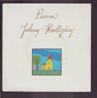 """45 T Johnny Hallyday """" Laura + Ton Fils """" - Autres - Musique Française"""