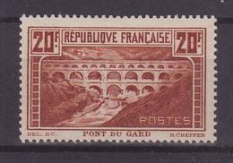FRANCE : N° 262 * . TB . SIGNE SCHELLER . 1930 . ( CATALOGUE YVERT ) . - Ungebraucht