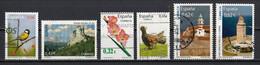 Espagne 2009 : Timbres Yvert & Tellier N° 4095 - 4108 - 4109 - 4110 - 4115 - 4116 - 4117 - 4120 Et 4123 Oblitérés. - 2001-10 Usati