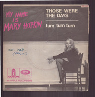 """45 T Mary Hopkin """" Those Were The Days + Turn Turn Turn """" - Autres - Musique Anglaise"""