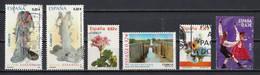 Espagne 2009 : Timbres Yvert & Tellier N° 4130 - 4131 - 4133 - 4146 - 4155 - 4161 Et 4166 Oblitérés. - 2001-10 Usati