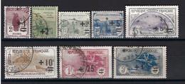 ⭐ France - YT N° 162 à 169 - Oblitéré - Orphelins Surchargés - 1922 ⭐ - Gebraucht