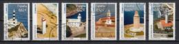 Espagne 2009 : Timbres Yvert & Tellier N° 4112 - 4113 - 4114 - 4115 - 4116 - 4117 + Feuille Des 6 Timbres Oblitérés. - 2001-10 Usati