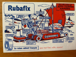 1 BUVARD RUBAFIX - Papeterie