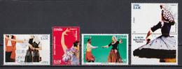 Espagne 2009 : Timbres Yvert & Tellier N° 4119 - 4120 - 4123 - 4124 - 4126 - 4127 - 4132 - 4133 Et 4137 Oblitérés. - 2001-10 Usati