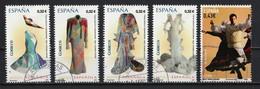Espagne 2009 : Timbres Yvert & Tellier N° 4128 - 4129 - 4130 - 4131 - 4141 - 4145 Et 4146 Oblitérés. - 2001-10 Usati