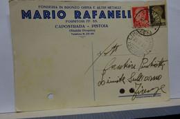 CAPOSTRADA -- PISTOIA  --    MARIO RAFANELLI - Pistoia