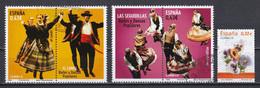Espagne 2009 : Timbres Yvert & Tellier N° 4151 - 4152 - 4155 - 4158 - 4161 Et 4166 Oblitérés. - 2001-10 Usati