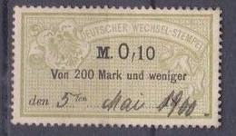 Deutscher Wechsel-stempel - Gebraucht