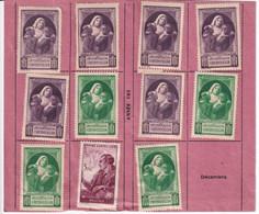 1945 - VIGNETTE BIENFAISANCE PTT VICTIME DE GUERRE Sur CARTE (RARE !) De COTISANT VOLONTAIRE ! - Autres