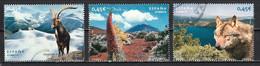 Espagne 2010 : Timbres Yvert & Tellier N° 4229 - 4236 - 4237 - 4247 - 4257 - 4261 Et 4265 Oblit. - 2001-10 Usati