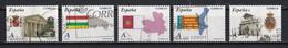 Espagne 2010 : Timbres Yvert & Tellier N° 4171 - 4172 - 4173 - 4174 - 4175 - 4176 - 4177 - 4178 Et 4181 Oblitérés. - 2001-10 Usati