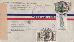 26000# COLOMBIE LETTRE CENSURE ZENSURSTELLE Obl CALI 1949 COLOMBIA Pour WIEN AUSTRIA VIENNE AUTRICHE VIENA - Colombia