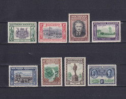 SOUTHERN RHODESIA 1940, SG# 53-60, Architecture, Emblem, MH - Southern Rhodesia (...-1964)