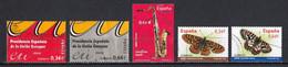 Espagne 2010 : Timbres Yvert & Tellier N° 4192 - 4193 - 4194 - 4198 - 4199 - 4202 - 4212 - 4214 - 4221 Et 4226 Oblit. - 2001-10 Usati