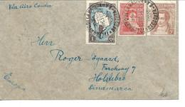 Argentina - Airmail Via Airo Condor. Sent To Denmark 1936.  S-4869 - Poste Aérienne