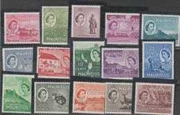 MAURITIUS 567 ** 1953 - Definitiva Elisabetta II, N. 241/55 . - Mauritius (...-1967)