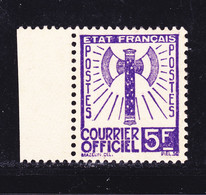 FRANCE SERVICE N°   12 (*)  Neuf Sans Gomme, TB, (L1) - Ungebraucht
