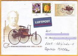 2011 Germany- Moldova  Letter Automobil Benz Ganzsachen - Umschläge - Gebraucht