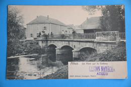 Athus 1905 : Un Pont Sur La Chières Très Animée. Ed Jamaigne,Tassier - Aubange