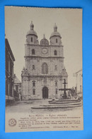Saint-Hubert: L'Eglise Abbatiale. - Saint-Hubert