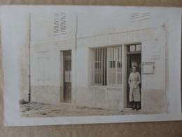Seine Et Marne-Carte Photo Postes Télégraphes Téléphones-Serris. Le Nom Du Village Est Inscrit Au Dessus De La Poste. - Unclassified