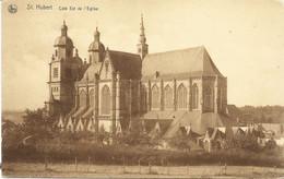 SAINT-HUBERT - Côté Est De L'Eglise - N'a Pas Circulé - Edit. : Maison Delaisse Soeurs, St-Hubert - Saint-Hubert