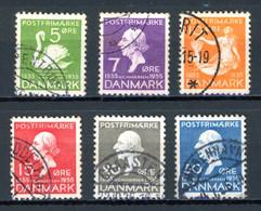 Danemark   Y&T    229 - 234    Obl   ---     Parfait état - Gebraucht