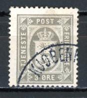 Danemark   Y&T    S  12    Obl   ---    Bel état. - Dienstpost