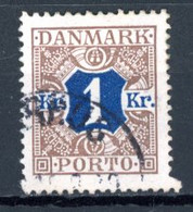 Danemark   Y&T    T  17    Obl   ---    Excellent état. - Portomarken