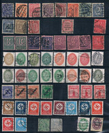 Dienstmarken 58 Stamps - Collections