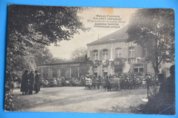 Halanzy 1920: La Maison Frontière Très Animée - Aubange