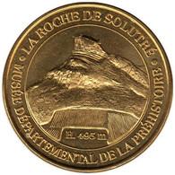 71-0227 - JETON TOURISTIQUE MDP - La Roche De Solutré - Musée - 2013.2 - 2013
