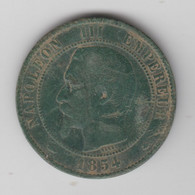 10 CENTIMES 1854 BB - D. 10 Centimes