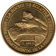 71-0227 - JETON TOURISTIQUE MDP - La Roche De Solutré - Musée - 2013.4 - 2013
