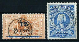 Mauricio (Británico) Nº 97-98 ... - Mauritius (...-1967)