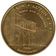 71-0868 - JETON TOURISTIQUE MDP - Autun - 2000 Ans D'histoire - 2009.1 - 2009
