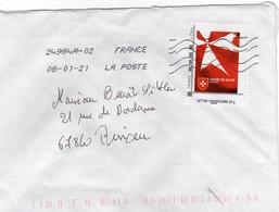FRANCE Personnalisé ORDRE DE MALTE S/lettre - Personalized Stamps