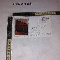 FB11651 FDC FILIGRANO ROMA 1986 TIMBRO ANNULLO GIORNATA MARTIRI E CADUTI INDIPENDENZA NAZIONALE - F.D.C.