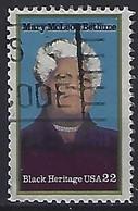 USA  1985  Black Heritage, Mary McLeod Bethune  (o) Mi.1729 - Gebraucht