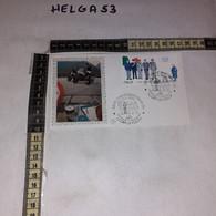 FB11652 FDC FILIGRANO CHIANCIANO TERME 1986 TIMBRO ANNULLO I CORPI DI POLIZIA - F.D.C.