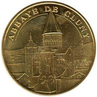 71-0940 - JETON TOURISTIQUE MDP - Abbaye De Cluny - Face Semi-cerclée - 2015.4 - 2015